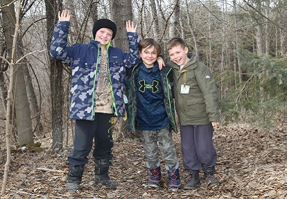 students enjoy Forest Explorers program at Claremont Nature Centre