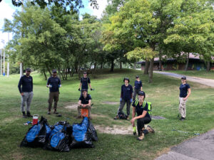 Watershed Wide Cleanup at Marie Curtis Park